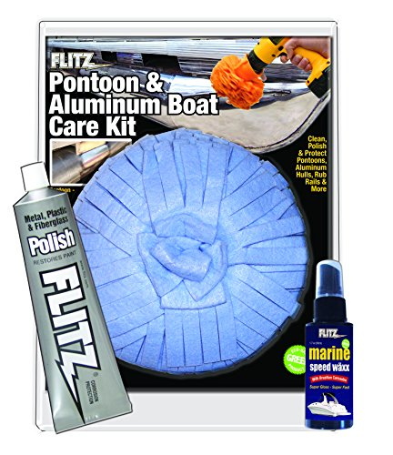 Flitz (ALB 31502) Pontoon Aluminum Boat Care Kit