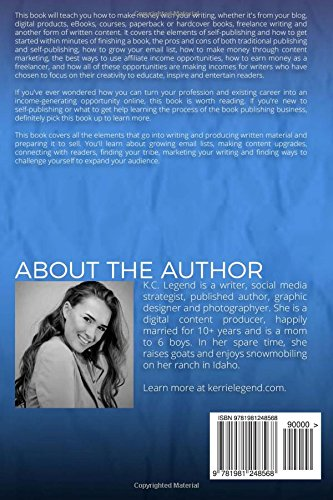 How-to-Make-Money-with-Your-Writing-Succeeding-with-Self-Publishing-and-Content-Marketing-for-Your-Writing-Business-Writing-Marketing-for-Creative-Entrepreneurs-Volume-1