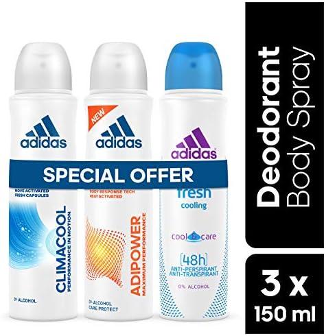 adidas Climacool Adipower Fresh Deodorant Body Spray for Women ...