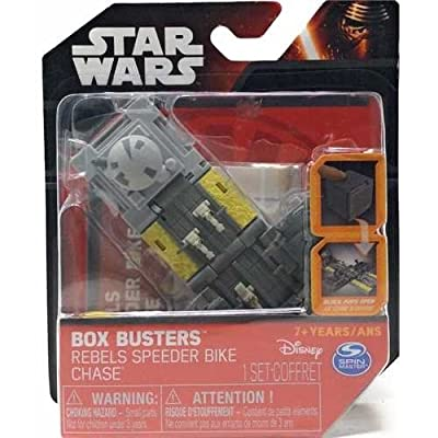 Star Wars Box Busters, Speeder Bike Chase: Toys & Games