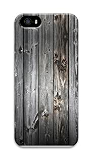 iPhone 5 5S Case Gray wood 3D Custom iPhone 5 5S Case Cover