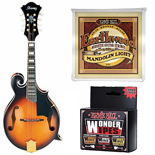 Ibanez M522 Mandolin Plus Extra Strings and Wonder for sale  Delivered anywhere in USA