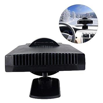 12V Auto Car Portable Ceramic Heater Cooler Dryer Fan Defroster Demister 200W