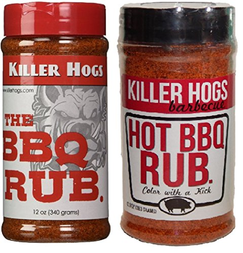 Pork Apple Cider - Killer Hogs The BBQ Rub and Hot BBQ Rub Combo