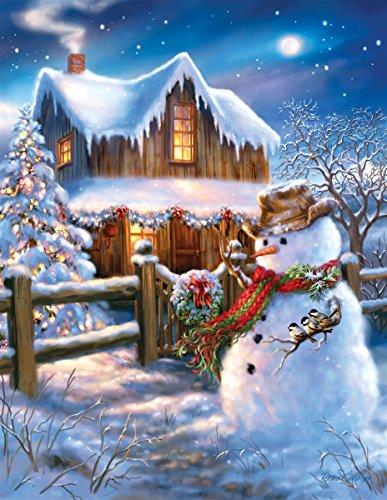 Springbok The Country Christmas 500 Piece Jigsaw -