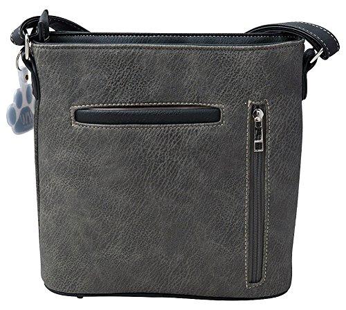 Horse Equestrian Concealed Purse Black Handbag Carry Collection Shoulder Western Concho HW Crossbody TqwxSRERC