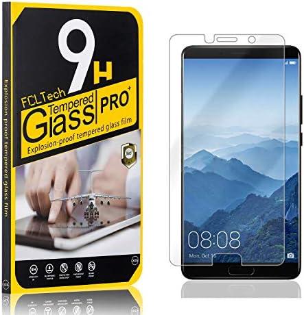 FCLTech 1 Stücke Schutzfolie für Mate 10, Ultra-HD Displayschutzfolie für Huawei Mate 10 Blasenfrei, Gegen Kratzer