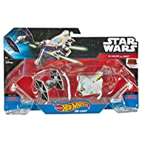 Hot Wheels Star Wars Star Wars Rebels Ghost contra TIE Fighter, paquete de 2