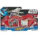 Hot Wheels Star Wars Starships Rebels Ghost Vs Tie Fighter, 2 Pack