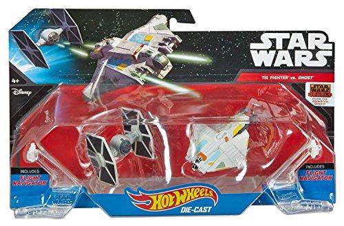 Star Wars Rebels Tie Fighter (Hot Wheels Star Wars Starships Rebels Ghost vs. TIE Fighter 2-Pack)