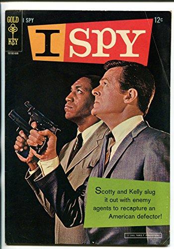 I SPY #1 1966-GOLD KEY-1ST ISSUE-ROBERT CULP-BILL COSBY-TV PHOTO (Bill Cosby Robert Culp Photo)