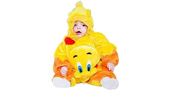 DISFRAZ CANARIO POCO vestido fiesta de carnaval fancy dress disfraces halloween cosplay veneziano party 88384 Size 6-9: Amazon.es: Ropa y accesorios