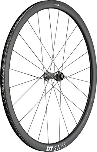 DT Swiss PRC 1400 db 35 Spline Front Wheel: 700c, 12 x 100mm, Centerlock Disc