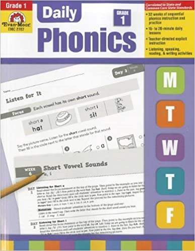 Book Daily Phonics, Grade 1 by Evan Moor (2012-01-01)