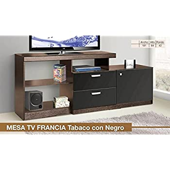 Muebles dico cto16116s1 mesa para televisor trendy amazon for Muebles dico cocinas