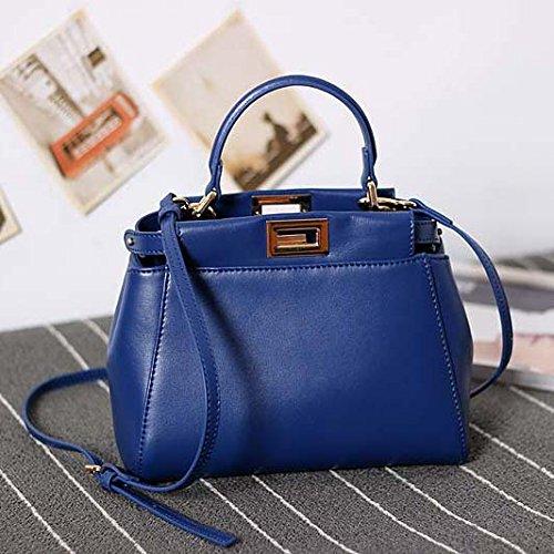 Mini Rosa GUANGMING77 Bolso Bolso blue Bolso Bolso Bolso vgnPFxqnX