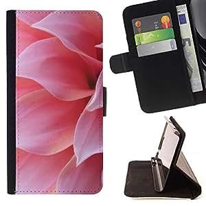 Momo Phone Case / Flip Funda de Cuero Case Cover - Pétale - Sony Xperia M2