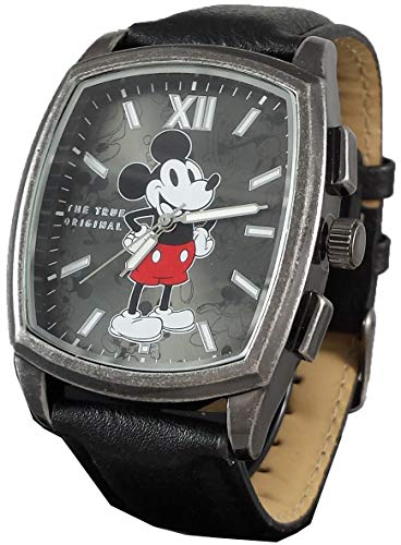 Disney Mickey Mouse Men's Leather Watch