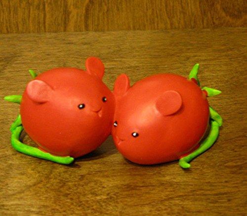 Homegrown Enesco Fruit (Enesco Home Grown Grape Tomato Mice Figurine, 1.5