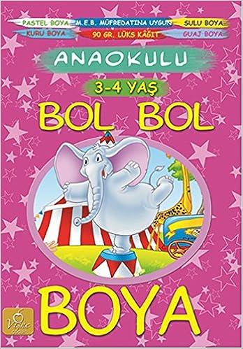 Bol Bol Boya 3 4 Yas Kolektif 9786059045544 Amazoncom Books