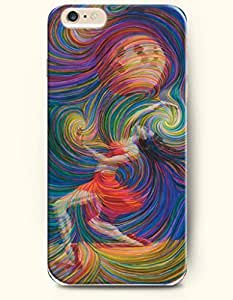 Dancing Hurricane - Rainbow Color Series - Phone Cover for Apple iPhone 6 Plus ( 5.5 inches ) - SevenArc Authentic...