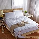 DHWJ WCCT Cotton mattress,Thicken Folding Soft beds mattress,Cotton mattress-B 180x200cm(71x79inch)