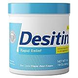 DESITIN Rapid Relief Diaper Rash Cream 16 oz (Pack of 3)