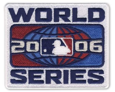 MLB 2006 Logo World Series -