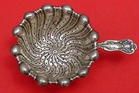 Imperial Queen By Whiting Sterling Silver Tea Strainer One Handle 4