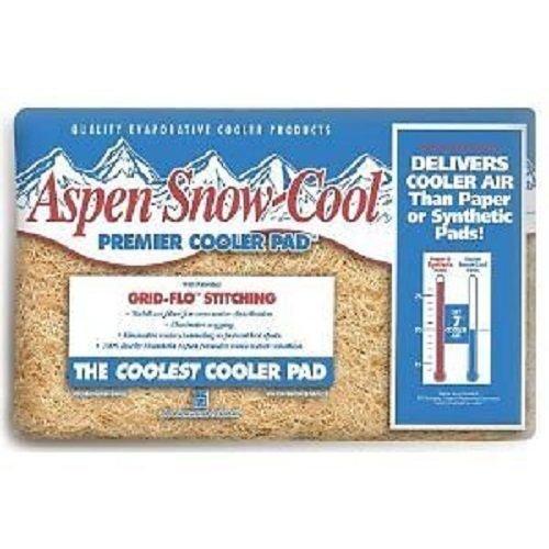 Aspen Snow-Cool 6IP 20'' x 22'' Evaporative Swamp Cooler Pads - Quantity 6