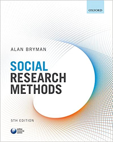 Social Research Methods Bryman Alan 9780199689453 Amazon Com Books