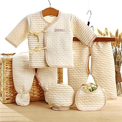 Ruirs Nice - Set de ropa interior térmica para bebé, algodó