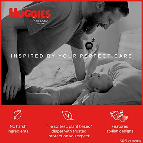 Huggies Special Delivery Hypoallergenic Baby Diapers