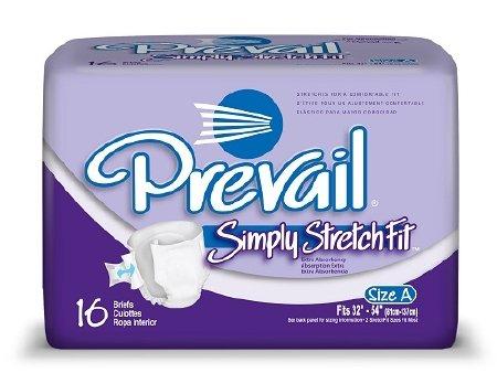 Amazon.com: Prevail® StretchFit Adult Briefs - CASE/96 (32