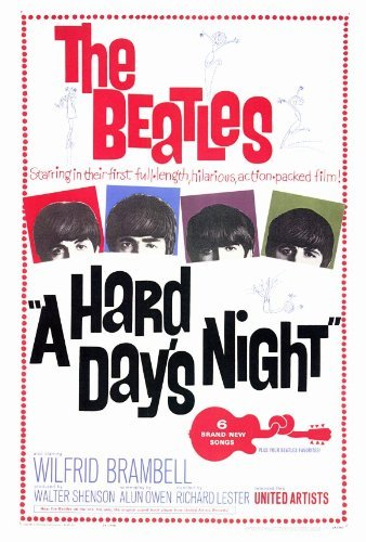 A Hard Day's Night POSTER Movie (27 x 40 Inches - 69cm x 102cm) (1964)
