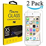Vultic iPod Touch (7th / 6th / 5th Gen) Screen Protector Tempered Glass [Case Friendly] Film Cover for Apple iPod Touch 5, iPod Touch 6, and iPod Touch 7 [2 Pack]