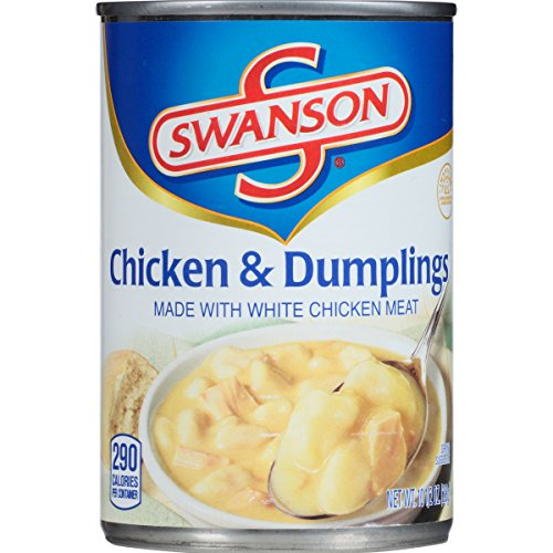 Dumpling Soup (Swanson Chicken & Dumplings Soup, 10.5 Ounce (Pack of 12) (Packaging May Vary))