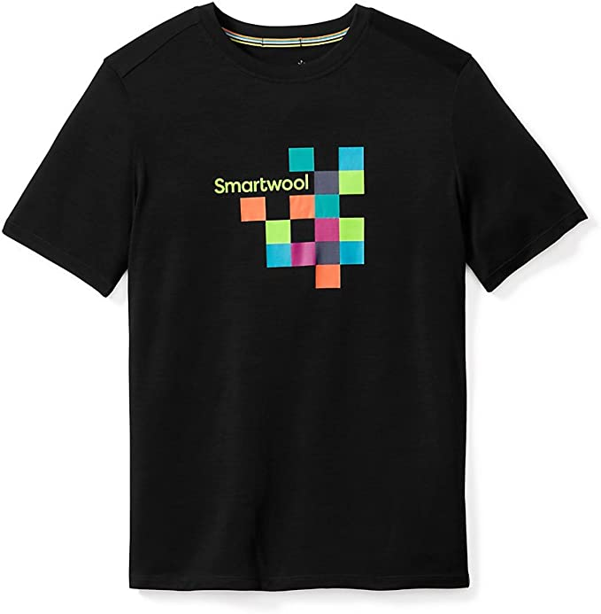 Smartwool Men's Merino 150 Logo Tee T Shirt: Amazon.co.uk