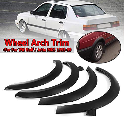 FidgetFidget for VW Golf Jetta Cabrio MK3 Fender Flares Wheel Arch Molding T Sper Car