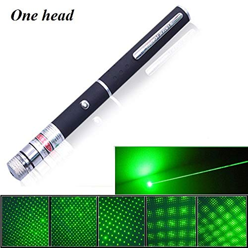 (Lasers - Starry 5Presentation Pointers 532nm Green Laser Pen Stars Laser Pointer with Clouds Sparkling Stars Lantern Time Tunnel Pattern Lazer No Battery - by HiMom - 1 PCs)