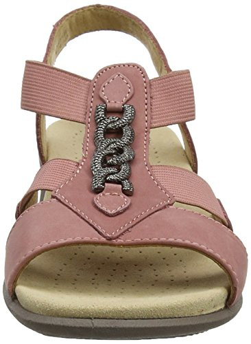 Toe Beam Open Sandals Salmon Pink Hotter Women's qt5xt6f
