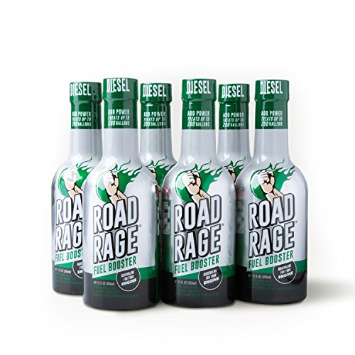 Road Rage Diesel Fuel Booster - (Six 12oz Bottle Case Pack) by Road Rage