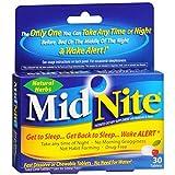 MidNite Sleep Aid, Tablets 30 ea (Pack of 5)