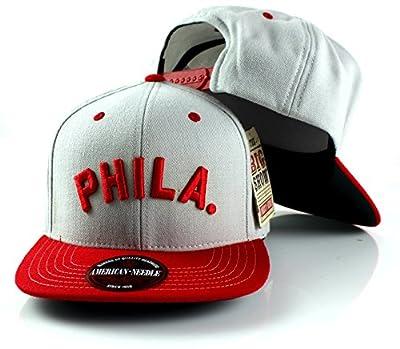 MLB American Needle The Big Show Baseball Wool Adjustable Snapback Hat (Philadelphia Phillies)