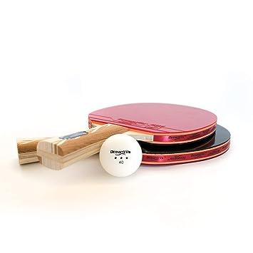 Amazon.com: Ping Pong - Juego de 4 palas con bolas y funda ...