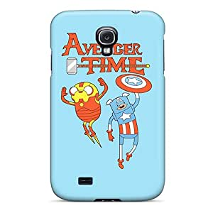 Shock Absorption Hard Phone Cover For Samsung Galaxy S4 With Custom Vivid Avenger Time Image IanJoeyPatricia