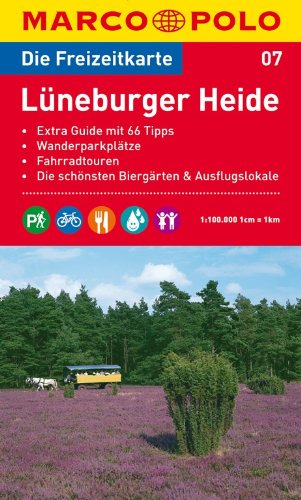 MARCO POLO Freizeitkarte Lüneburger Heide 1:100.000