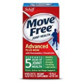 Move Free Advanced Plus MSM, 120 tablets - Joint Health Supplement with Glucosamine and Chondroitin (Pack of 12)