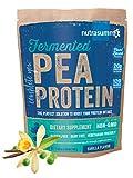 Nutrasumma Fermented Pea Protein, 1lb, Vanilla