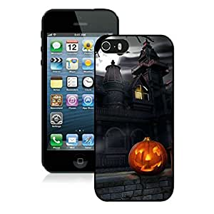 Individualization Iphone 5S Protective Cover Case Halloween iPhone 5 5S TPU Case 5 Black